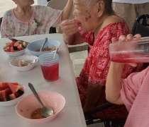 ศูนย์ดูแลผู้สูงอายุแสนสิริ โฮมแคร์ กิจกรรมวันแม่ 12 สิงหาคม2563  อนามัย 23